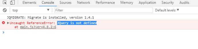 【日常】WordPress中使用JQuery无法生效解决办法